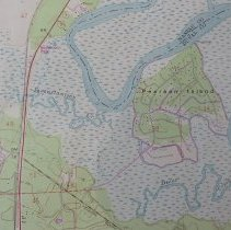 Image of 1958 Hedges Quadrangle 7.5 minute Topographic Map