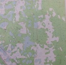 Image of 1955 Perry (FL) Quadrangle 7.5 minute Topographic Map