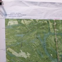 Image of 1980 Kingsland GA  Quadrant 7.5 Orthophoto map