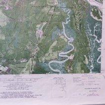 Image of 1980 Harriets Bluff  Quadrant 7.5 Orthophoto map