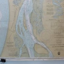 Image of 1983 Nautical Chart Fernandina Airport to Kings Bay - Map