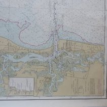 Image of 1982 Nautical Chart Doboy Sound GA to Fernandina