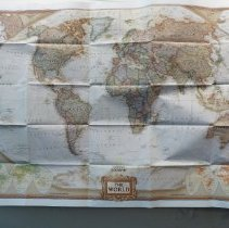 Image of National Geographic Society World Map 2002 - Map