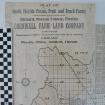 Image of Plat of North Florida Pecan, Fruit and Truck Farms - Map