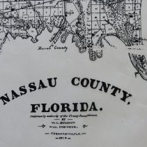 Image of 1910 Map Of Nassau County Florida 004