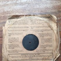 Image of Edison Diamond Disc Cover Back
