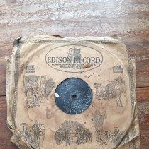 Image of Edison Diamond Disc - Record, Phonograph