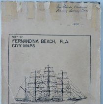 Image of 1954 Fernandina Beach City Maps 001