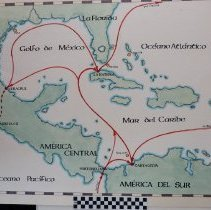 Image of 17th and 18th Century Spanish Shipping Routes