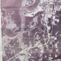 Image of 1977 Aerial Map of the north end of Amelia Island FL