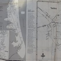 Image of 1984 map of Nassau County Florida