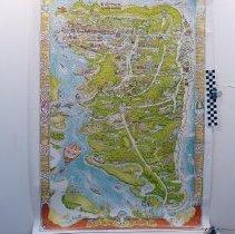 Image of 1984Treasure map of Amelia Island FL