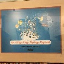 Image of 1986 Shrimp Festival Poster - Print