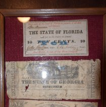 Image of Civil War Artifacts - Money, Paper