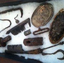 Image of Civil War Artifacts - Brush, Animal