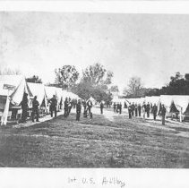 Image of 1st U.S. Artillery, Civil War, Jacksonville - Photograph