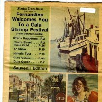 Image of Florida Times-Union Souvenir Edition for the 15th Annual Shrimp Festival, May 5, 6, 7, 1978 - Newspaper