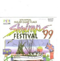 Image of Fernandina Beach News-Leader Supplement of April 28, 1999 for the 36th Annual Isle of Eight Flags Shrimp Festival, April 29 through May 2. - Newspaper