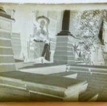 Image of Antique Cameras, equipment, negatives.   - Photograph