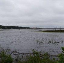 Image of Egans Creek at high tide - Photograph