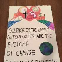 Image of Women's March Placard - Placard