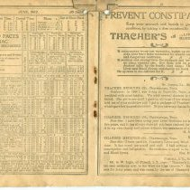 Image of Hints and Facts Almanac for Farmers and Mechanics - Almanac