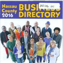 Image of 2016 Nassau Country Buisiness Directory  - Directory