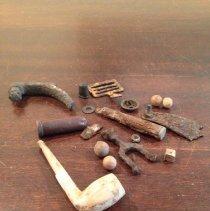 Image of Civil War Artifacts - Pipe, Smoking