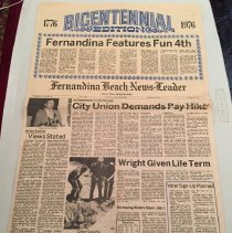 Image of Bicentennial Edition News Leader