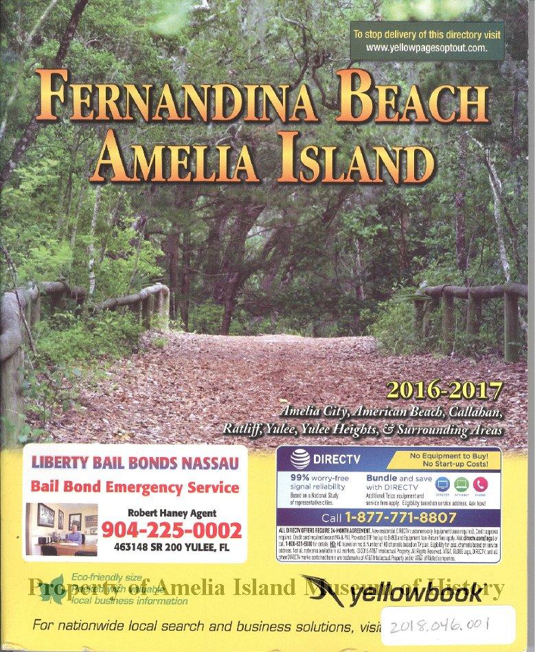 Yellowbook: Fernandina Beach, Amelia Island 2016/2017