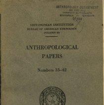 Image of 2003.216 - E51 .U6 no.151 1953 (copy 1)