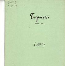 Image of 2015.2 - F306 .T47 v.1(34) 1974