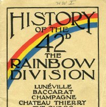 Image of A Brief  Story of the Rainbow Division.  - Walter B. Wolf