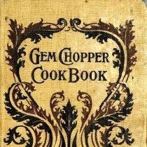 "Image of ""Gem Chooper Cook Book"