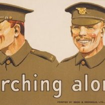 Image of WW1Recruiting Poster, Detail Three