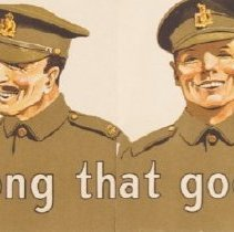 Image of WW1Recruiting Poster