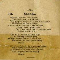 "Image of Poems, ""Canada,"" and ""The Royal City,"" page 2"