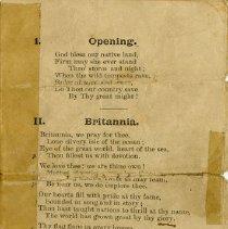 "Image of Poem - ""Britannia,"" page 1"