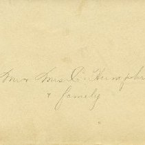 Image of .2 Envelope to Mr. & Mrs. C. Humphries