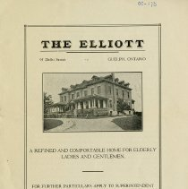 "Image of ""The Elliott"" Booklet"