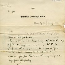 Image of .3 Letter to N. Higinbotham re Standard Time, January 17, 1884