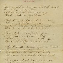 Image of .2 - Poem Dedicated to Col. Higinbotham, M.P., p.1