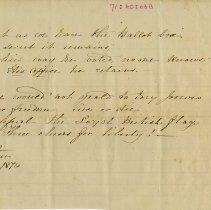 Image of .2 - Poem dedicated to Col. Higinbotham, M.P., p.2