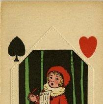 Image of .1 -  Auction Bridge Pad of Scorecards
