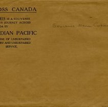 Image of .5 - Canadian Pacific Envelope