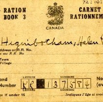 Image of 1972.10.57.2 - Book, Ration