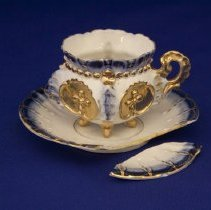 Image of 1972.30.22.2 - Cup & Saucer, Demitasse