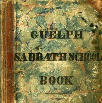 Image of Guelph Sabbath School Record Book, 1844-1849