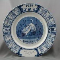 Image of 1972.44.2 - Plate, Souvenir