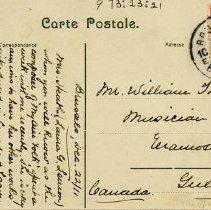 Image of Postcard from Alice Higinbotham regarding Laura Lemon, 1911